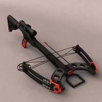 Realistic Crossbow 3D Model