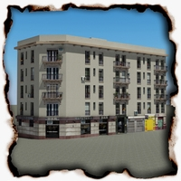 Building 98 3D Model
