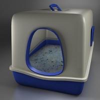 Toilet cat 3D Model