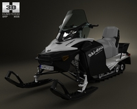 BRP Ski-Doo Expedition Sport 2012 3D Model