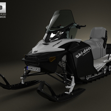 BRP Ski-Doo Expedition Sport 2012 3D Model
