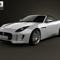 Jaguar F-Type S convertible 2013 3D Model