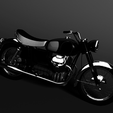 Moto Guzzi 850 California 1969 3D Model