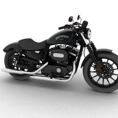 Harley Davidson XL883 Sportster Iron 2012 3D Model