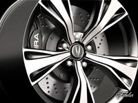 Acura NSX rim 3D Model