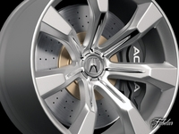 Acura Advanced sport concept rim 3D Model