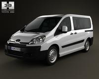Toyota ProAce Combi L1H1 2012 3D Model