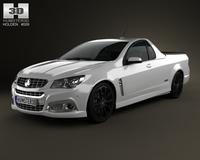 Holden VF Commodore Calais V UTE 2013 3D Model