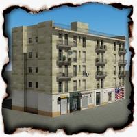 Building 99 3D Model