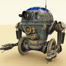 00734 A-CT Robot 3D Model