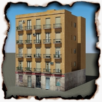 Building 100 3D Model