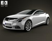 Buick Riviera 2007 3D Model