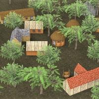 Old Village 3D Model