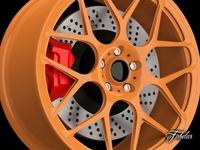 Maggiolino RS rim 3D Model