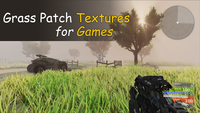 Grass Patch Textures for Games 3D Model