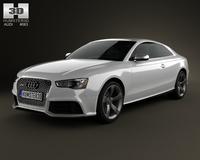 Audi RS5 coupe 2012 3D Model