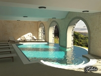 Swimming pool 01 3D Model