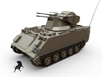 M-113 SIDAM 3D Model