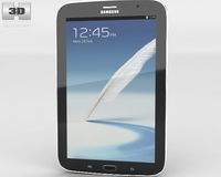 Samsung Galaxy Note 80 3D Model