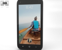 HTC First Facebook Phone 3D Model