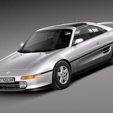 Toyota MR2 1994-1999 3D Model