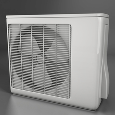 Air conditioning 3D Model