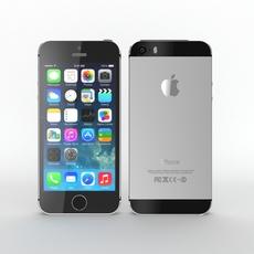 Iphone 5s Black 3D Model