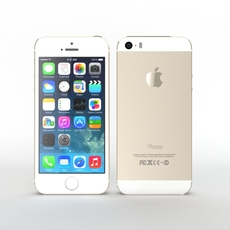 Iphone 5s Gold 3D Model
