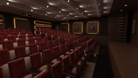 Cinema Theater Room 3D Model
