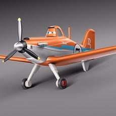 Disney Dusty Crophopper 3D Model
