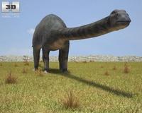 Diplodocus (Diplodocus Longus) 3D Model