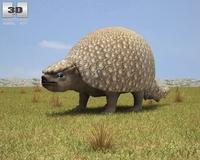 Glyptodon (Glyptodon) 3D Model