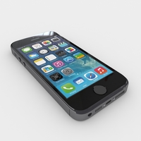 Iphone 5S (Grey) 3D Model