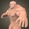 19 48 43 212 fantasy muscular man 03 4