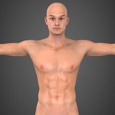 Realistic Male Robert 3D Model
