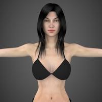 Sexy Woman Ritu 3D Model