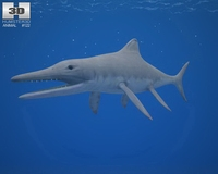 Temnodontosaurus 3D Model