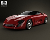 Bertone Mantide 2009 3D Model