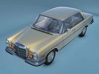 Mercedes-Benz 300SE 3D Model
