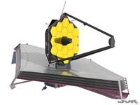 James Webb Spacial Telescope 3D Model
