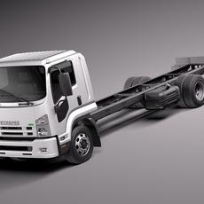 ISUZU F-series 2013 3D Model