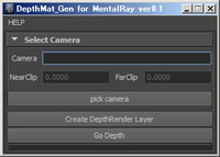 Free DepthPass with alpha Channel for Maya 0.2.0