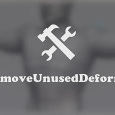rsRemoveUnusedDeformers with Softimage 2012 for Xsi 1.0.0 (xsi plugin)