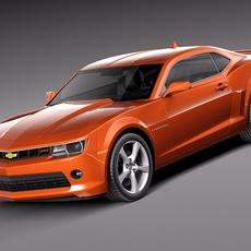 Chevrolet Camaro RS 2014 3D Model