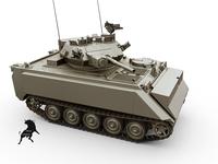 M-113 MRV 3D Model