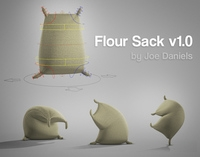 Free jd FlourSack for Maya 1.0.0