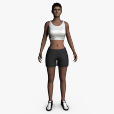 Ana 3D Model