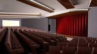 AUDITORIUM - THEATRE 3D Model