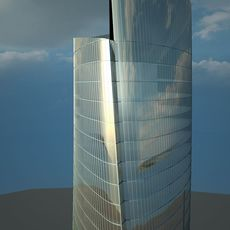 The Shanghai Tower Day Time 3D Model