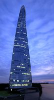 The Shanghai Tower Night 3D Model